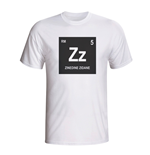 Camiseta Zinedine Zidane Real Madrid Periodic Table