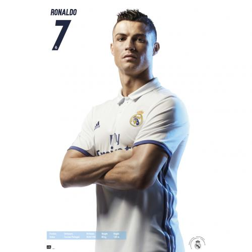 Póster Real Madrid Ronaldo 33