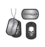 Placa de identidade Ghost Recon 252756
