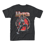 Camiseta Misfits Skeleton