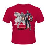 Camiseta Marvel Avengers Age Of Ultron Captain A Draw