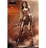 Póster Batman Vs Superman - Wonder Woman - 61 x 91,5 cm