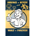Póster Fallout 4- Vault Forever 61x91,5 Cm