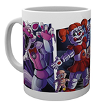 Caneca Five Nights at Freddy's - Sister Location Characters
