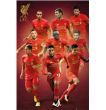 Póster Liverpool FC - Players 16/17 - 61x91,5 Cm