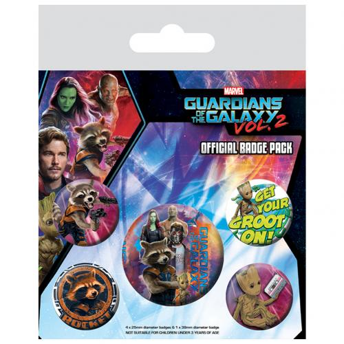 Kit Chapinhas Guardians of the Galaxy