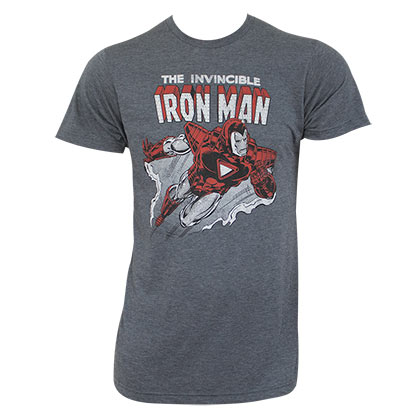Camiseta Iron Man Invisível