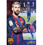 Póster Barcelona - Messi Collage 16/17