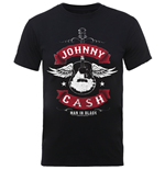 Camiseta Johnny Cash Winged Guitar