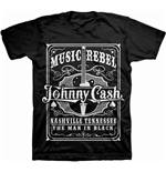 Camiseta Johnny Cash 254819