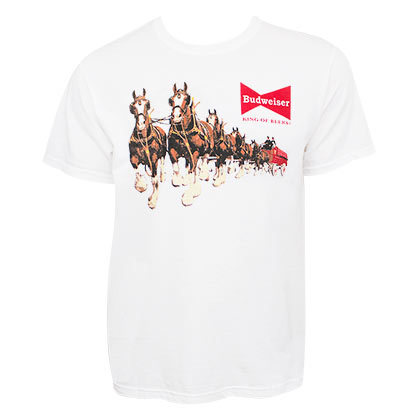 Camiseta Budweiser Clydesdales