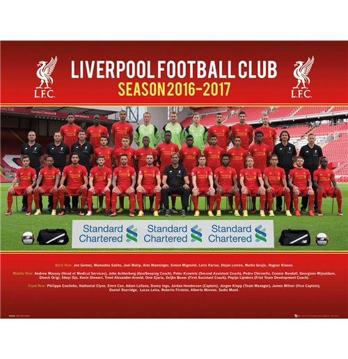 Poster Liverpool FC 255287