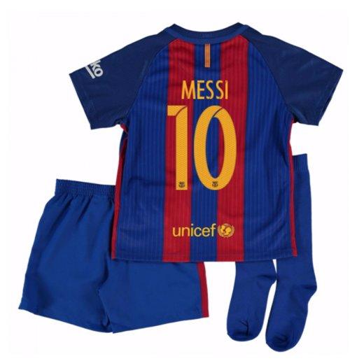 a264b7650a Compra Camiseta Barcelona Home 2016 17 de criança com patrocinadores ...