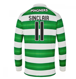 Camiseta Manga Longa Celtic 2016-2017 Home (Sinclair 11)