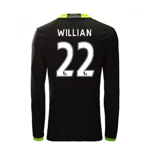 Compra Camiseta Chelsea 2016-2017 Away (Willian 22) Original 4843b56cc3927
