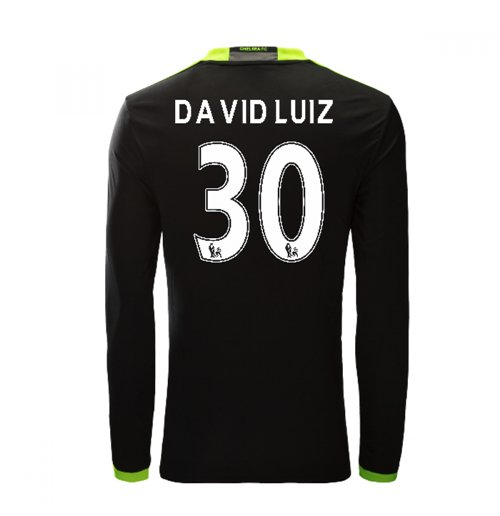 Compra Camiseta Chelsea 2016-2017 Away (David Luiz 30) Original 39a87bea2d8c5