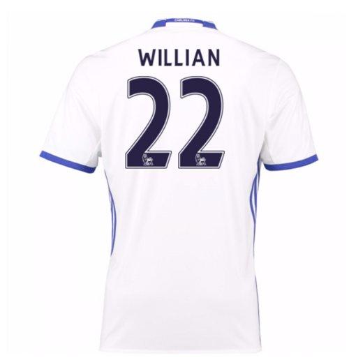 Compra Camiseta Chelsea 2016-2017 Third (Willian 22) Original 2377bc21482e1