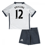 Mini Conjunto Manchester United FC 2016-2017 Third (Smalling 12)