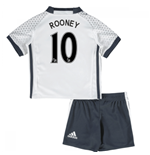 Mini Conjunto Manchester United FC 2016-2017 Third (Rooney 10)