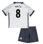 Mini Conjunto Manchester United FC 2016-2017 Third (Mata 8)
