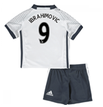 Mini Conjunto Manchester United FC 2016-2017 Third (Ibrahimovic 9)