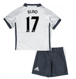 Mini Conjunto Manchester United FC 2016-2017 Third (Blind 17)