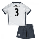 Mini Conjunto Manchester United FC 2016-2017 Third (Bailly 3)