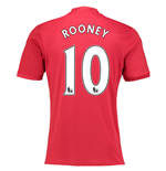 Camiseta Manchester United FC 2016-2017 Home (Rooney 10)