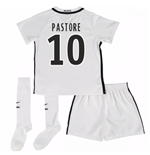 Mini conjunto Paris Saint-Germain 2016-2017 Third (Pastore 10)
