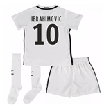 Mini conjunto Paris Saint-Germain 2016-2017 Third (Ibrahimovic 10)