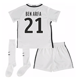 Mini conjunto Paris Saint-Germain 2016-2017 Third (Ben Arfa 21)
