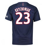 Camiseta Paris Saint-Germain 2016-2017 Home (Krychowiak 23) de criança