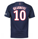 Camiseta Paris Saint-Germain 2016-2017 Home (Ibrahimovic 10)