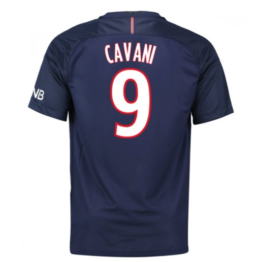 Camiseta Paris Saint-Germain 2016-2017 Home (Cavani 9)