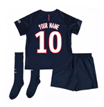 Mini conjunto Paris Saint-Germain 2016-2017 Home Personalizada