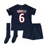 Mini conjunto Paris Saint-Germain 2016-2017 Home (Verratti 6)