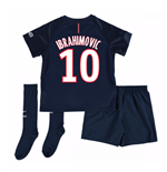 Mini conjunto Paris Saint-Germain 2016-2017 Home (Ibrahimovic 10)
