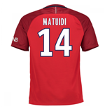 Camiseta Paris Saint-Germain 2016-2017 Away (Matuidi 14) de criança