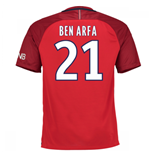 Camiseta Paris Saint-Germain 2016-2017 Away (Ben Arfa 21) de criança