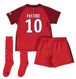Mini conjunto Paris Saint-Germain 2016-2017 Away (Pastore 10)