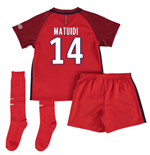 Mini conjunto Paris Saint-Germain 2016-2017 Away (Matuidi 14)