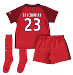 Mini conjunto Paris Saint-Germain 2016-2017 Away (Krychowiak 23)