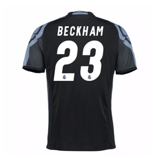 Camiseta Real Madrid Third 2016/17 (Beckham 23)