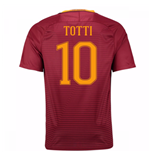 Camiseta  AS Roma Home 2016/17 (Totti 10)