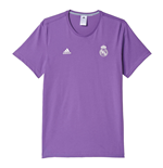 Camiseta Real Madrid 2016/17 Adidas 3S (Roxo)