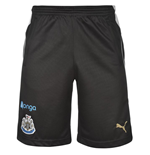 Shorts Newcastle United 2016-2017 (Preto)