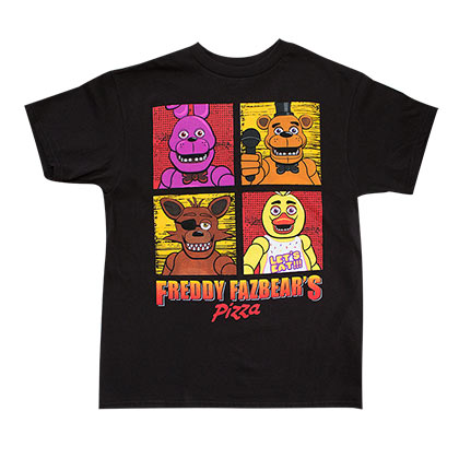 Camiseta Five Nights at Freddy's