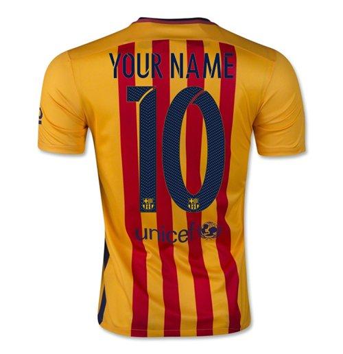 3e3e54458e Camiseta Barcelona 2015-2016 Away Original  Compra Online em Oferta