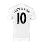 Camiseta Manchester United FC 2015-2016 Away Personalizada