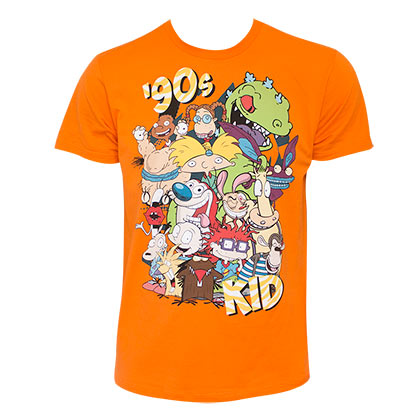 Camiseta Nickelodeon 90's Kid